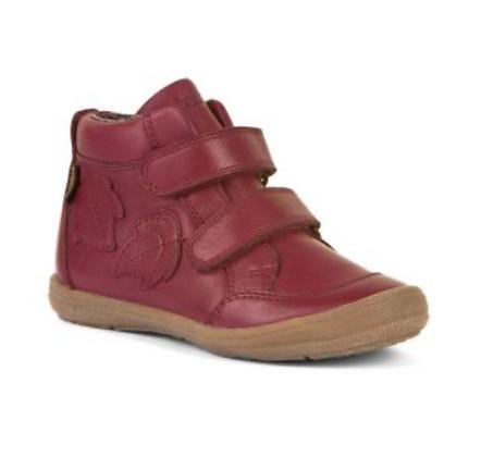 Froddo Waterproof Children's Ankle Boots Roberta Tex BORDEAUX