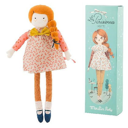 Parisiennes - mademoiselle Colette doll (39 cm)  By Moulin Roty & Lucille Michie
