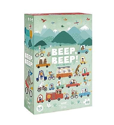 Puzzle - Beep Beep By Londji