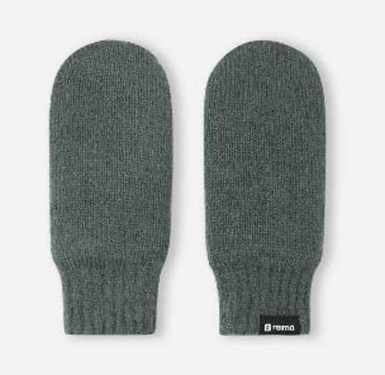 REIMA Kids' wool mittens with fleece lining Luminen