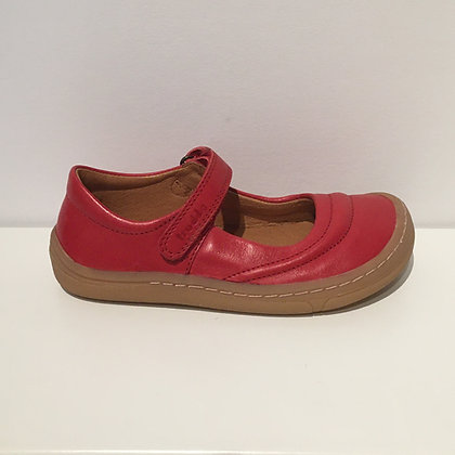 FRODDO LEATHER MARY RED JANE BAREFOOT
