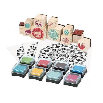 Stamps, Mandala  By Vilac & Stephanie Rousseau