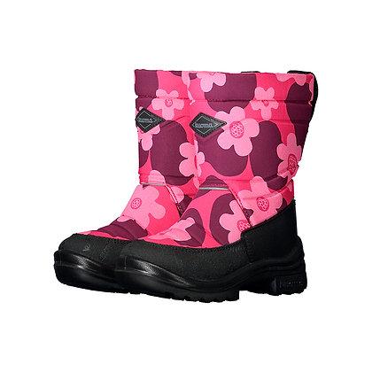 KUOMA PUTKIVARSI boots PINK FLOWERS