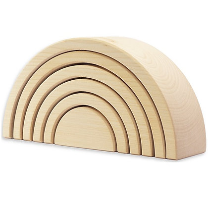 Nesting Arch Natural (6pcs) By Ocamora