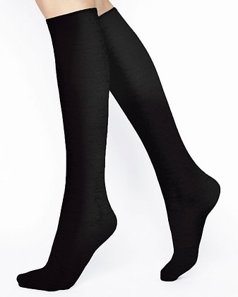 BLEUFORET MERINO WOOL KNEE-HIGHS women