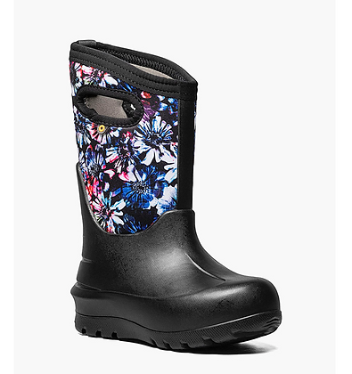 BOGS NEO-CLASSIC REAL FLOWER Kids Winter Boots