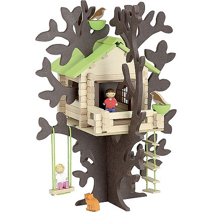 Log - Treehouse 90 pcs By jeujura