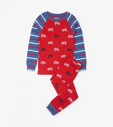 HATLEY farm tractors ORGANIC COTTON Pajama Set
