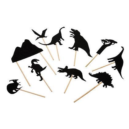 Histoires du Soir - dinosaur shadows By Moulin Roty