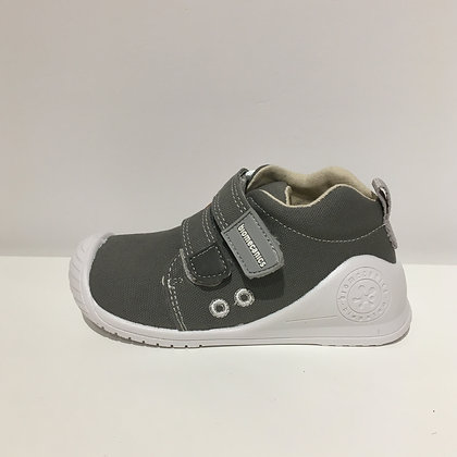 BIOMECANICS CANVAS BABY SHOES GREY