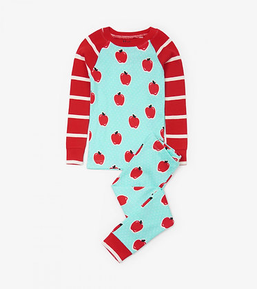 HATLEY APPLE AND DOTS ORGANIC COTTON Pajama Set