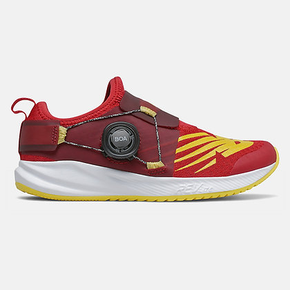 NEW BALANCE PKRVLTC2 RED/YELLOW 11-5.5J