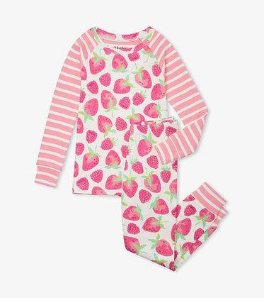 HATLEY DELICIOUS BERRIES Organic Cotton Raglan Pajama Set