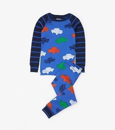 HATLEY CLASSIC PICKUP TRUCKS ORGANIC COTTON Pajama Set
