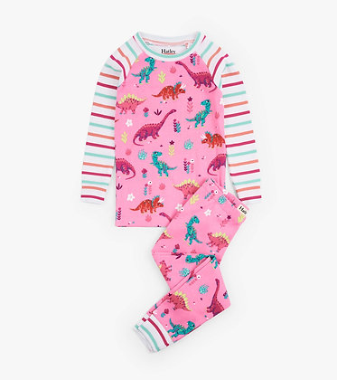 HATLEY DARLING DINOS ORGANIC COTTON Pajama Set