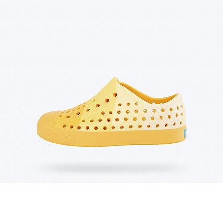 NATIVE Jefferson Crayola® Block Sunny Side Up Yellow/ Block Print