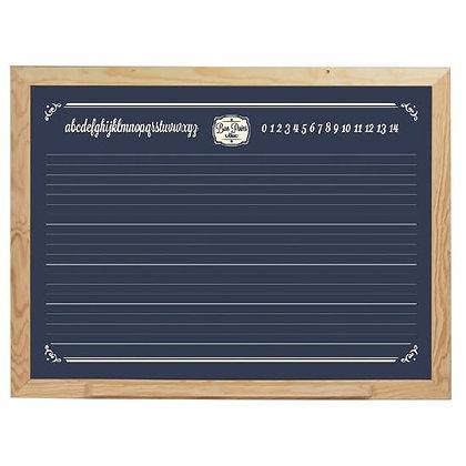 Blackboard, Large Blackboard to Hang by VILAC