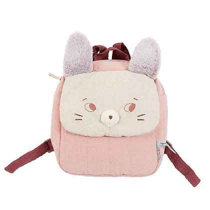 Apres la Pluie - Brume Mouse Backpack By Moulin Roty & Lucille Michieli