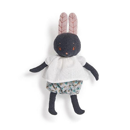 Lune the rabbit soft toy (29cm) By Moulin Roty & Lucille Michieli