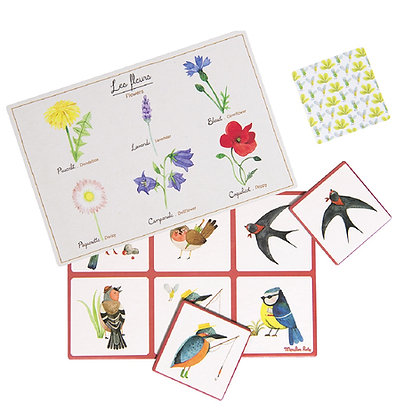 Le Botaniste - nature lotto (bingo) game By Moulin Roty
