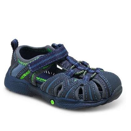 Merrell Hydro Sandal - Navy/Green