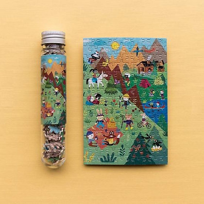 Micropuzzle - Summer in the Mountains By Londji & Mariana Ruiz Johnson