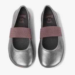 CAMPER ballerinas silver