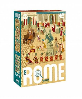 Puzzle - Go to Rome  By Londji