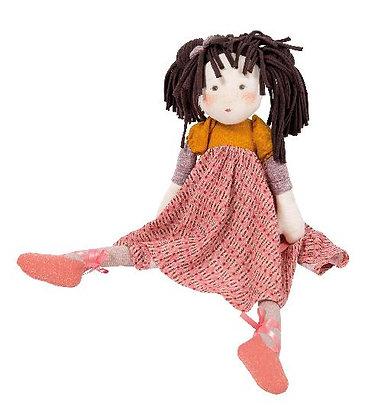 Les Rosalies - Prunelle Rag Doll (45cm) By Moulin Roty & Cécile Blindermann