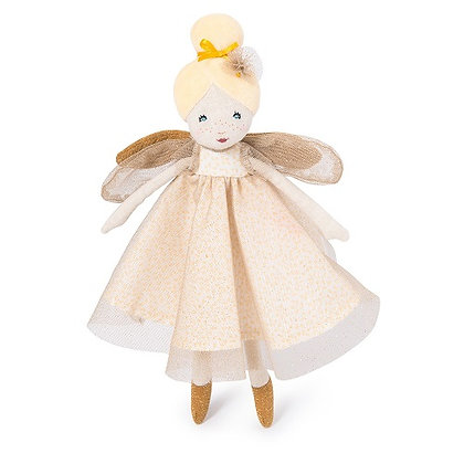 Il Etait une Fois - little golden fairy doll  By Moulin Roty