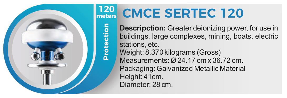 CMCE SERTEC 120