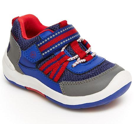 STRIDE RITE   srtech jasper sneaker  BLUE/RED