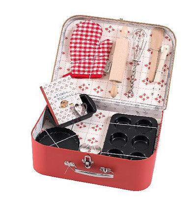 L'atelier de Patisserie / Baking Set in Case By Moulin Roty