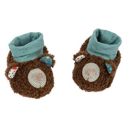 Les Jolis Trop Beaux Bear booties