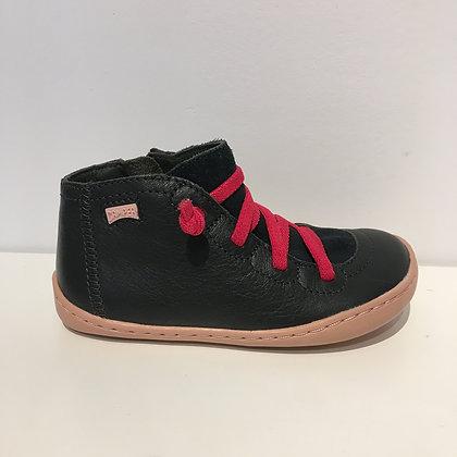 CAMPER Peu Grey Boots for Kids