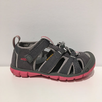 KEEN SEACAMP STEEL GREY/ROSE  9-13