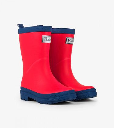 HATLEY Rain Boot RED/NAVY