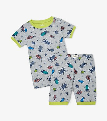 HATLEY Curious Critters Organic Cotton Short Pajama Set
