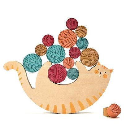 Wooden Toy - Meow Balancing Game By Londji
