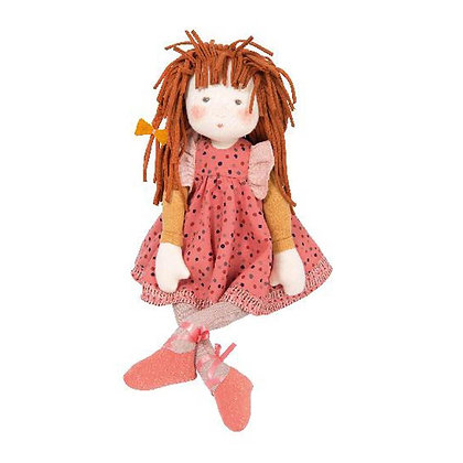 Les Rosalies - Anemone Rag Doll (57cm) By Moulin Roty & Cécile Blindermann