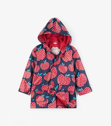Polka Dot Apples Classic Raincoat