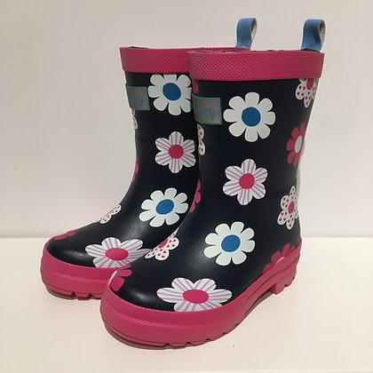 HATLEY Rain Boots SPRING FLOWERS