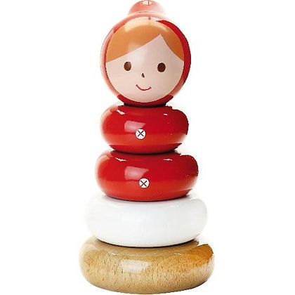 Shinzi Katoh - Stacking Toy, Red Riding Hood By Vilac