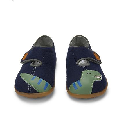 SEE KAI RUN slippers Cruz II Navy Dino
