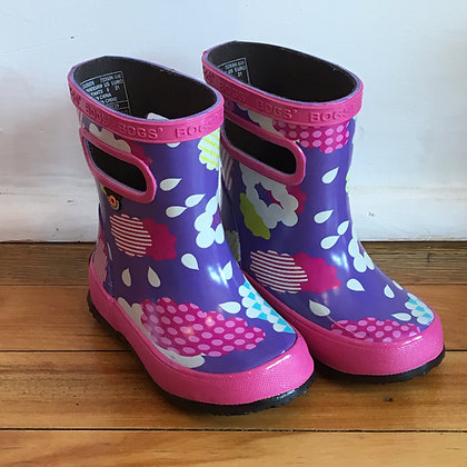 BOGS rain boots /  clouds