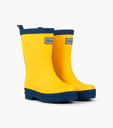 HATLEY Rain Boots YELLOW/BLUE