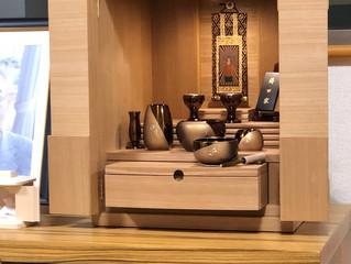 お仏壇をお納めしました。