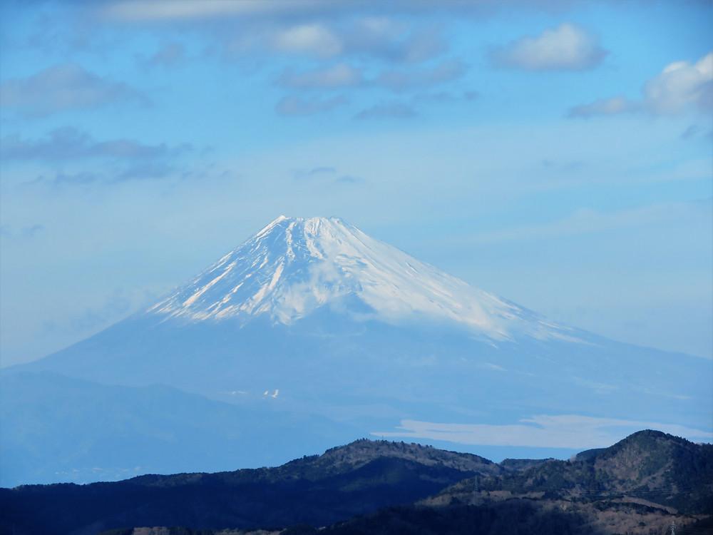 うさぎさんの終活日記 大室山からの富士山