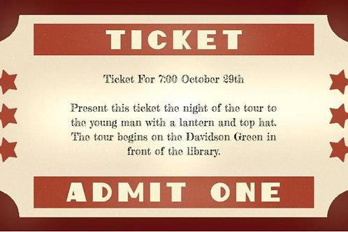Halloween Weekend Ticket, 29th Friday