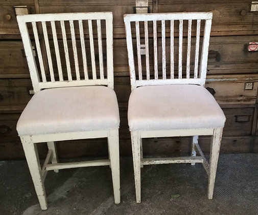 Lot de 4 chaises danoises